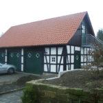 Fachwerkgarage I Fa. Blöcher und Firma Holz + Lehm 2003 Herford