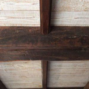 Historische Balken eingebaut als neue Balkendecke im Hausbau I Fa Blöcher 2015