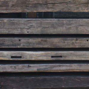 Eichenbalken - komissioniert und zu gesägt, für die Restaurierung